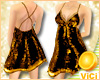 ! Vici-Sexy Sequin Gold