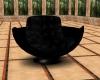 Black Lap Kiss Chair