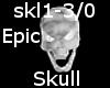 Epic Skull DJ Light