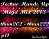 Techno Mega Mix 11/18