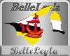 BLL Brunei Flag/Map