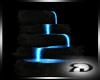 Black blue  Fountain