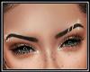 Pierced Dark Eyebrows