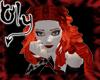 <oly> hot red daisy