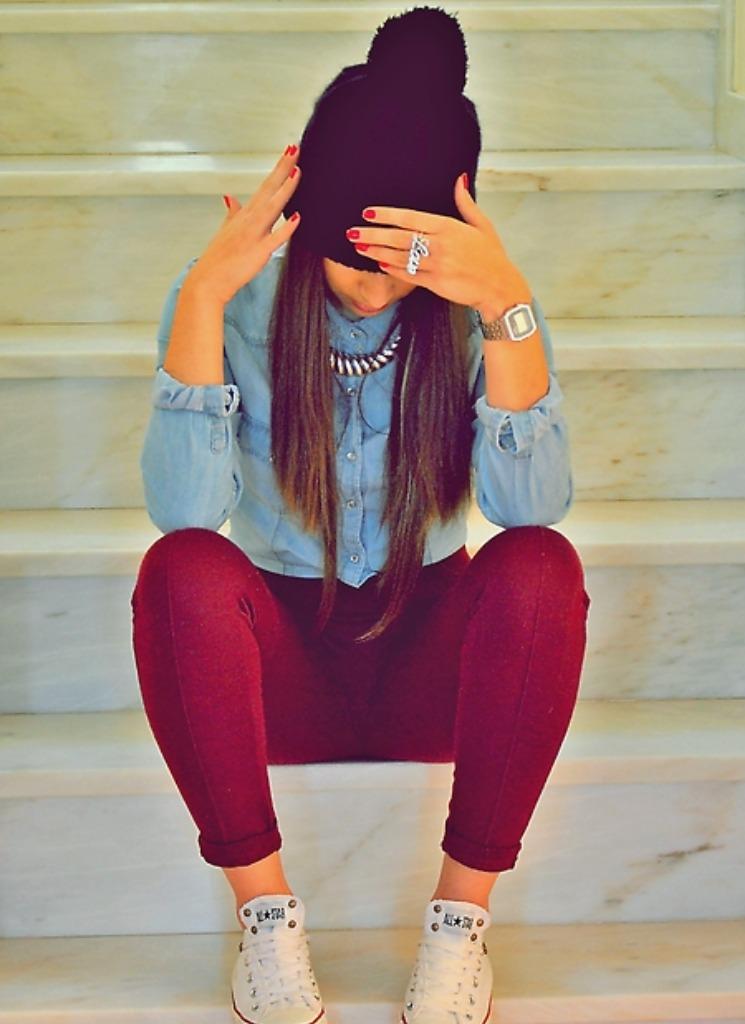 Фото девушек на аву с светлыми волосами