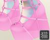 kawaii pink platform