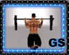 GYM PULL UP BAR ANIMATED