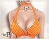 Clara Top Orange
