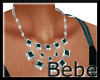Necklace Green Stone