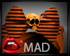 MD Halloween bow skull