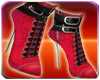Red Snake Skin Boots