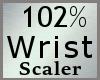 Wrist Scaler 102% M A