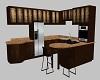 {DD}Dark Wood Kitchen