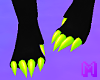 🅜 TRICK: claws foot