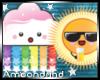 AM:: Kawaii Sun & Clouds