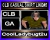 CLB CASUAL SHIRT LINE#5