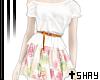 S~ Floral Dress