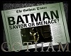 Gotham Newspaper - Bat