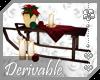 ~AK~ Holiday Sled Decor
