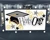 Hats Off Graduation Sign