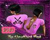 hardrock top pink