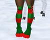 Chestnut Fur Socks
