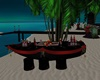 Dark Beach Boat Bar