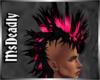 💀 Black & Pink Mohawk