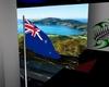 NZ flag,animated