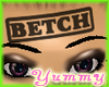[Y] -Stamped Betch- BLK