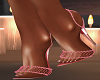 Pink Sparkle Heels
