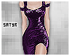 Purple Glitter Gown Req.