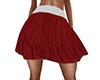 ~N~ Red Cheer Skirt