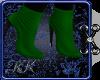 KK Holiday Boots Green