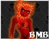 Red Fire Demon Skin