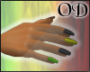 [OD] Rasta Nails
