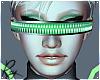 Galactic Green Visor
