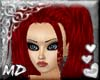 *MD*RED Enigma hair
