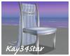 Wedding Aisle Chair Blue
