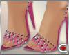 *SC-Pink Sparkle Heels