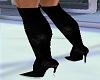 Long Black Boots