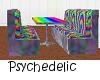 Psychedelic Club Booth