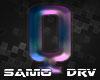 Q Letter Colored Drv