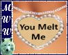You Melt Me Necklace