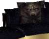 gold wolf couch