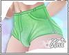 FMB Lime Jean Shorts