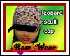  RW LEOPARD SCULLI CAP