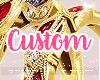 Custom Red F
