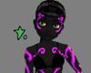 Neon Rave Skin Purple F