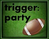 Football party confetti